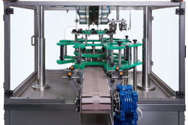 Handle applicator for PET bottles has put into production