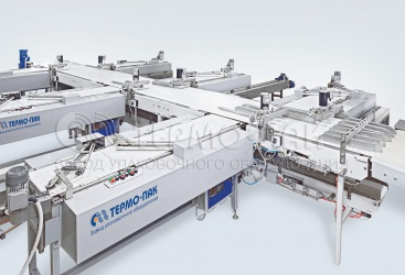 Conveyor for confectionery production