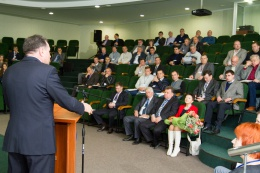 "2012 - At the base of the plant ""Thermo-Pak"" the II Annual Conference"